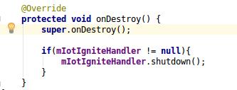 destroyMain:IoT